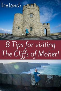 The Cliffs of Moher are one of the top tourist attractions in Ireland. Follow these 8 tips to make the most of your travel there!