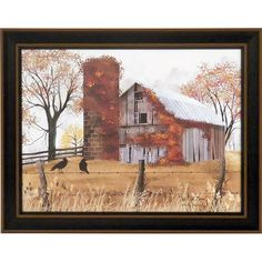 Billy Jacobs print.  The Old Barn