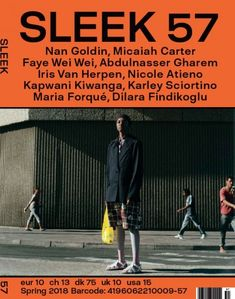 Sleek #57 : Nan Goldin