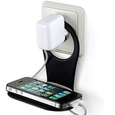 Foldable Mobile Phone Shelf.. how cool is this?