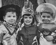 Cowboy, Indian & Astronaut...This is too adorable!!
