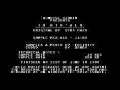 Im Nin'Alu by Sunrise Studio, 1988   Atari ST Music Demo   1080p/50fps - YouTube