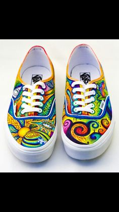 Trippy vans shoes ideas for adventures in sharpie tie dye 8d11ccc3cd