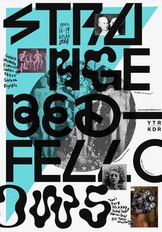 Typographic poster design by Studio Sarp Sozdinler Typo Poster, Typographic Poster, Typographic Design, New Poster, Creative Posters, Cool Posters, Graphic Design Posters, Graphic Design Typography, Gfx Design