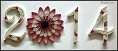 DAYDREAMS: Quilled New year 2014