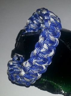 Handmade Paracord Survival Bracelet by MonkeyFighterPCord on Etsy, $8.00