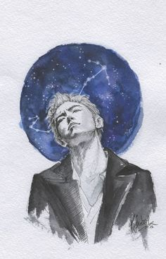 """dae-dreamxx: """"희미한 불빛이 되어 별들 사이로 ~ i'm becoming a faint light and go among the stars LAST DANCE inspired Seunghyun fanart because I got emotional once again listening to the song and I will honestly miss him so much. . please open the image for higher..."""