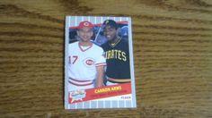 FLEER 1989 SUPERSTAR CANNON ARMS SABO/BONILLA CARD 637