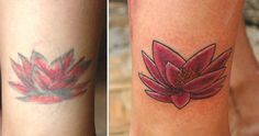 re-worked/ cover up... old to new.. lotus  #freshtattoo #darkskin #touchup #coverup #nimztattoo #monstersink #nimz