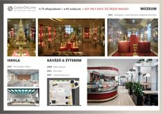Museum, school and restaurant interior design by ColorOnLine Interior Design