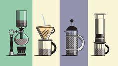6 Arten Kaffee zu kochen: