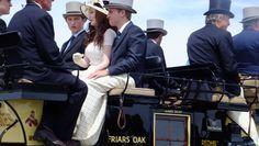 Newport carriages I.  Copyright 2012. Beth Fagan
