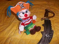 Phush One piece ispired Buggy clown pirate by BazarDiSottomondo
