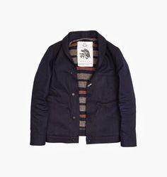 RGT x Need Supply // Blanket Lined Shawl Collar Indigo Jacket