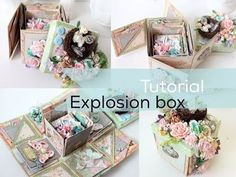 Super Easy Tutorial Explosion Box | Start to Finish | How to | Instructions - YouTube