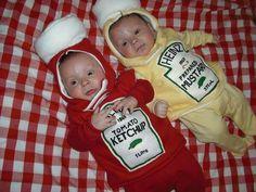 Ketchup and Mustard twins