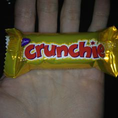 Thank f- Crunchie it's Friday :) (I've waited ALL week to use this joke)