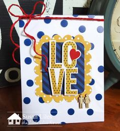 Front Porch Kit- Happy Home- Card by Susan Liles