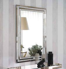 espejos modernos de cristal modelo nacar