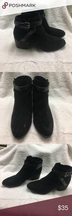 Short  velvet black boots Black velvet UNISA black shirt boot Unisa Shoes Ankle Boots & Booties