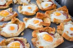 Frühstücks-Muffins mit Ei und Bacon - ° Verenas Welt °° Verenas Welt °