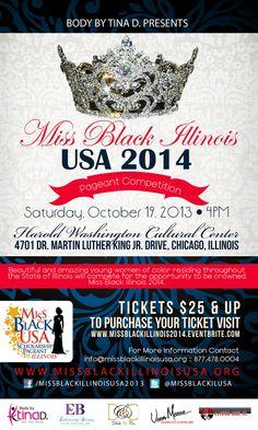 RSVP #Chicago: Miss Black Illinois USA Miss and Talented Teen 2014 Scholarship Pageant - Black Folk Hot Spots #BlackBusiness Social Network Direc...