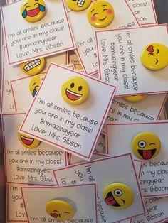 Emoji back to school gift ;)