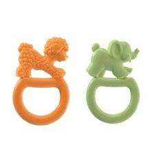 Vulli 2 Pack Vanilla Flavored Ring Teethers - Arlee LOVES these!
