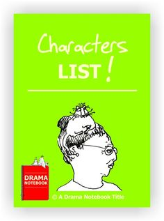 Over 100 different types of characters for you to use with your improv or drama activities.