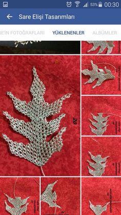 Crochet Flower Tutorial, Crochet Flowers, Beaded Cross, Crochet Needles, Point Lace, Needle Lace, Lace Making, Bead Crochet, Needlepoint