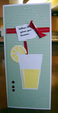 Cricut Just Because Cards.  Musings of a Crafty Mom: Cooking With Cricut Challenge: Anything Goes!