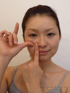 Массаж, освежающий и поднимающий щеки от Takashi Isamu