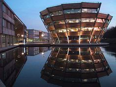 Business Library, Jubilee Campus. Nottingham University