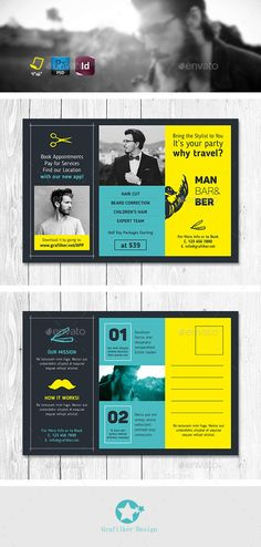 Corporate Business Postcards Psd Cards Invites Print Templates