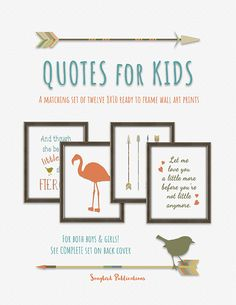 Quotes for Kids is a set of twelve matching ready to frame and hang wall art prints for children. Perfect for a boy's or girl's bedroom. Colors: teal, coral, avocado, beige, and brown. Click the picture for more info. Framed Wall Art, Wall Art Prints, Teal Coral, Quotes For Kids, Bedroom Colors, Girls Bedroom, Art For Kids, Boy Or Girl, Avocado