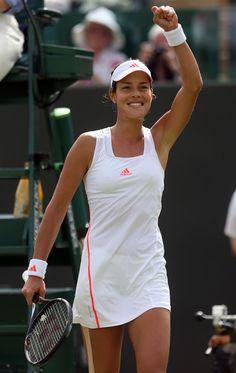 Ana Ivanovic at #Wimbledon