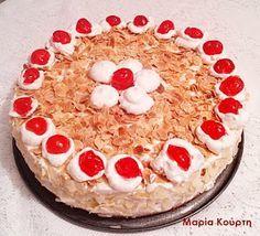 Συνταγές για διαβητικούς και δίαιτα: Τούρτα αμυγδάλου με στέβια Tiramisu, Pie, Ethnic Recipes, Desserts, Food, Torte, Tailgate Desserts, Cake, Deserts