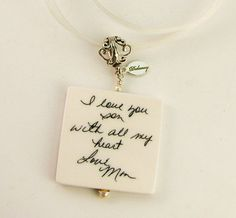 BC9  Special Message Bouquet Memorial Charm by DelaneyPhotoJewelry, $71.00