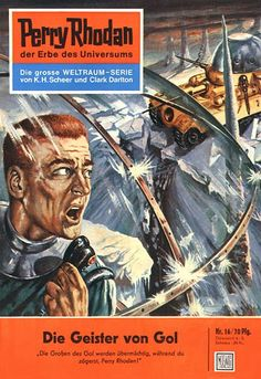 Saved From The Paper Drive: Perry Rhodan, 1961 covers