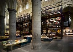 Selexyz Dominicanen Library/Bookstore, Maastricht - Holland