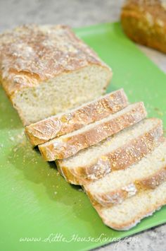 Easy English Muffin Bread Recipe - Little House Living