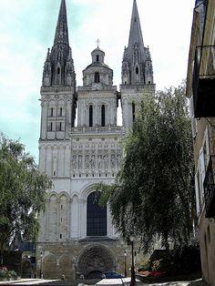 Cathédrale St-Maurice. Angers (Maine-et-Loire) - Pays-de-la-Loire.