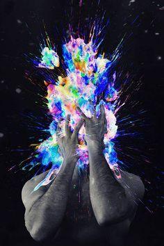 crazy insane colors | ganja lsd follow me shrooms acid psychedelic crazy trip alcohol insane ...