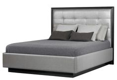 Arris Bed By Altura  Contemporary, Upholstery  Fabric, Bed by Dennis Miller Associates