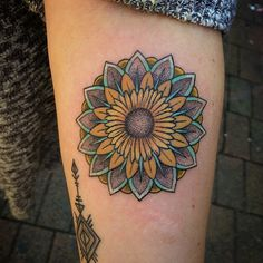 sunflower+tattoo