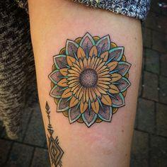 sunflower+tattoo