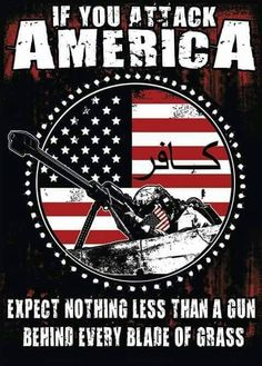 America has one of the best armies in the world because of their guns. Expect the soldiers to use their resources.