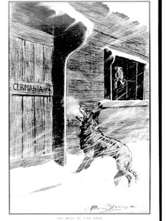 WWI, 29 Dec 1916, Western Mail; Famine - The wolf at the door. In 1916 German workers were putting in fourteen-hour days and, according to official German counting, 121,114 Germans had starved to death, up from 88,232 in 1915 – deaths the Germans attributed to the British blockade, but also the result of a decline in Germany's farm production because men and horses had been taken for the war effort. During 1916, food riots had occurred in 30 German cities. Premature frost killed the potato…