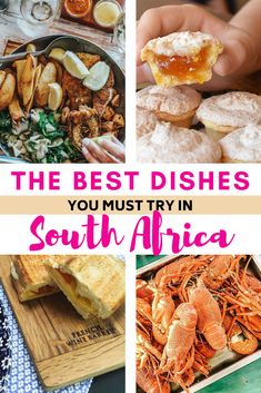 These traditional South African dishes are a must when you visit the country. The South African cuisine, influenced by many different cultures, is so flavorsome. | South African food African style | Side dishes for a braai South Africa | South African dishes comfort food | South African dishes meat | South African dishes families | what to eat in South Africa | Food in South Africa | South African food traditional | South African food Afrikaans | Cape Town South Africa food | braai side… South African Dishes, South African Recipes, Ethnic Recipes, A Food, Food And Drink, Best Dishes, Side Dishes, Try On, International Recipes