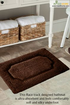 Add Colour To Your Bathroom Floor With These Stylish Mats Homedecor